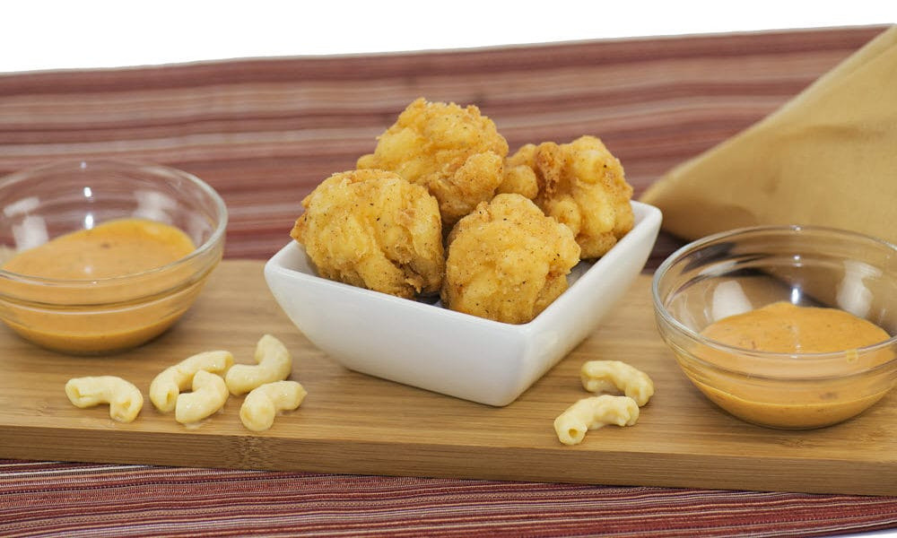 Champs Chicken Mac and Cheese balls