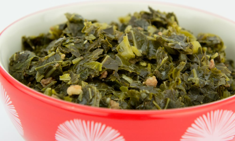 Champs Chicken Be a Mealtime Hero Collard Greens