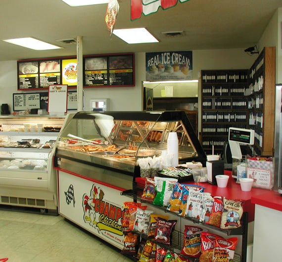 Champs Chicken Be a Mealtime Hero Our History First Location