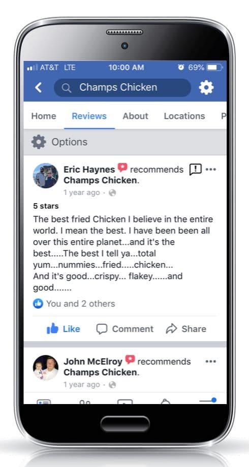 Champs Chicken Be a mealtime hero customer review 1c