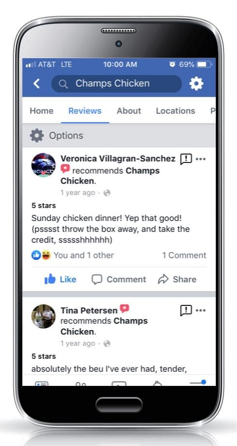 Champs Chicken Be a mealtime hero customer review 2c