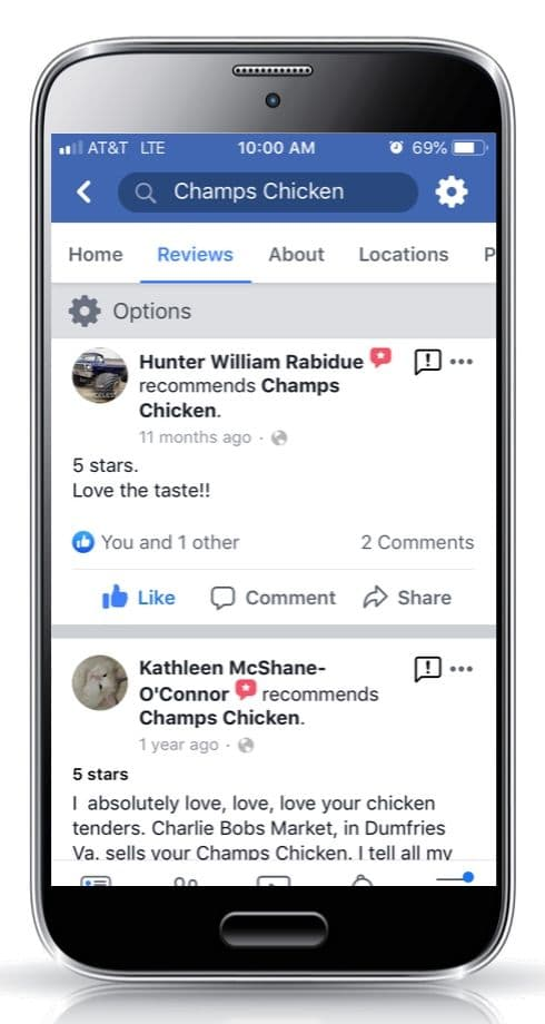 Champs Chicken Be a mealtime hero customer review 3c