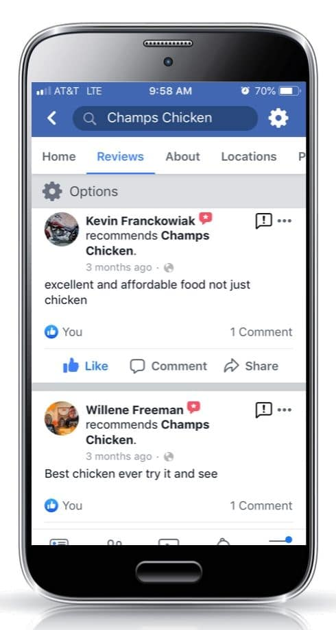 Champs Chicken Be a mealtime hero customer review 5c