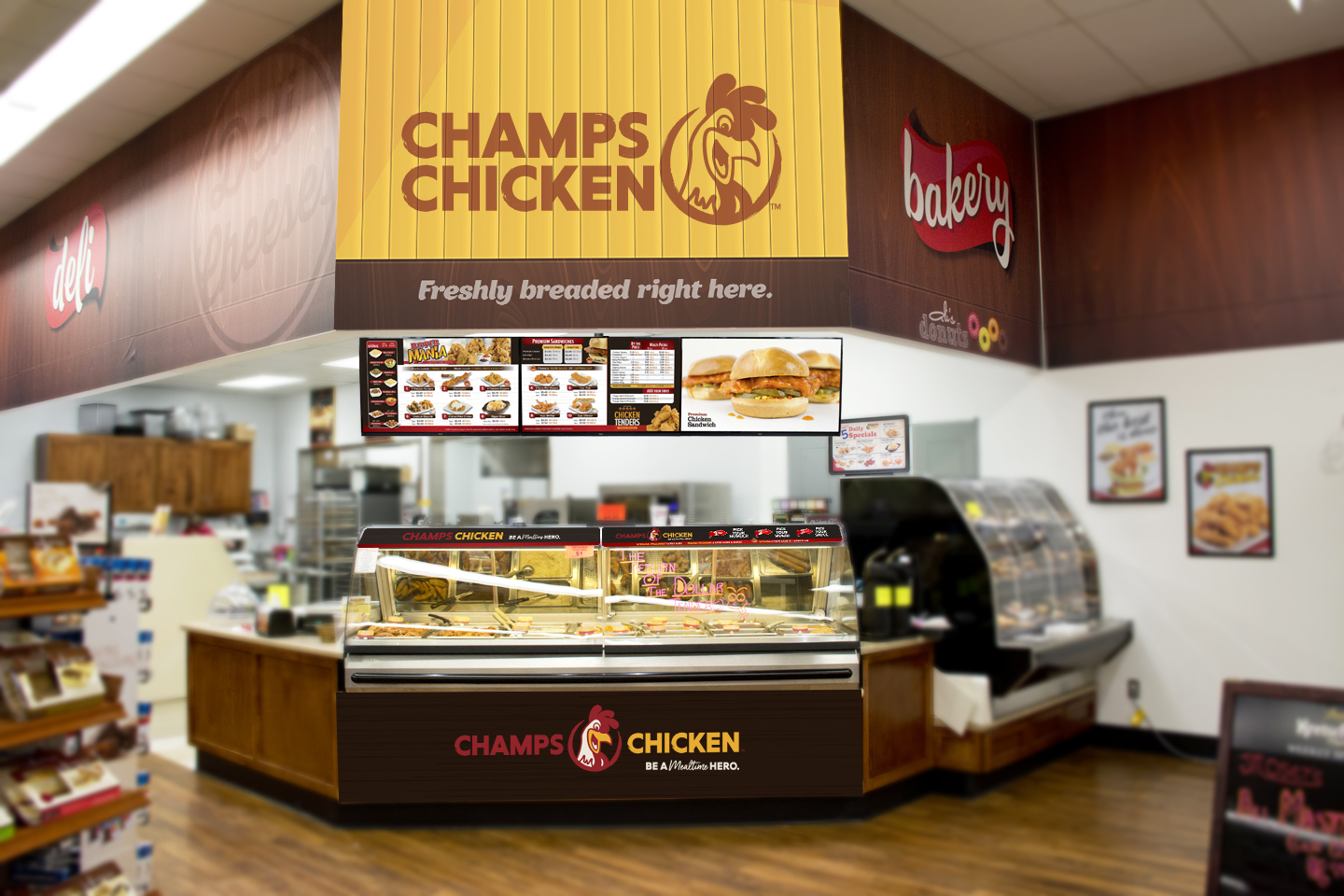 Champs Chicken's COVID-19 Frequently Asked Questions
